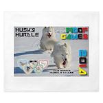 Husky Hurdle WOOF Games 2014 King Duvet