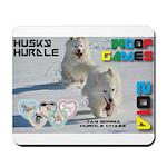 Husky Hurdle WOOF Games 2014 Mousepad