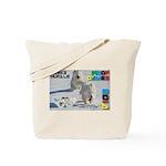 Husky Hurdle WOOF Games 2014 Tote Bag