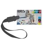 Husky Hurdle WOOF Games 2014 Luggage Tag