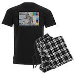 Husky Hurdle WOOF Games 2014 Pajamas