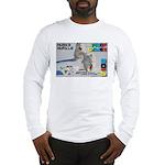Husky Hurdle WOOF Games 2014 Long Sleeve T-Shirt