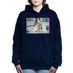 Husky Hurdle WOOF Games 2014 Women's Hooded Sweats