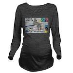 Husky Hurdle WOOF Games 2014 Long Sleeve Maternity