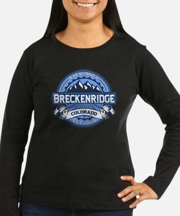 Breckenridge Blue Long Sleeve T-Shirt