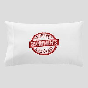 World's Best Grandparents Pillow Case