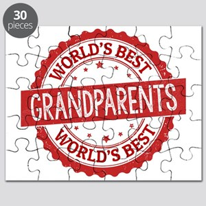 World's Best Grandparents Puzzle