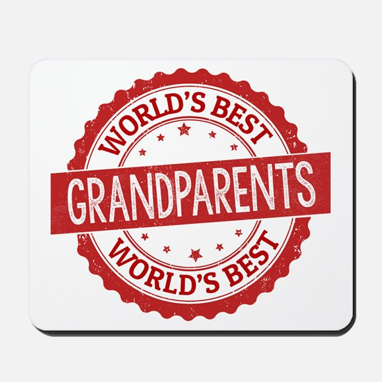 World's Best Grandparents Mousepad