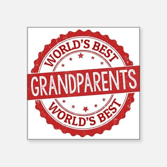 World's Best Grandparents Sticker