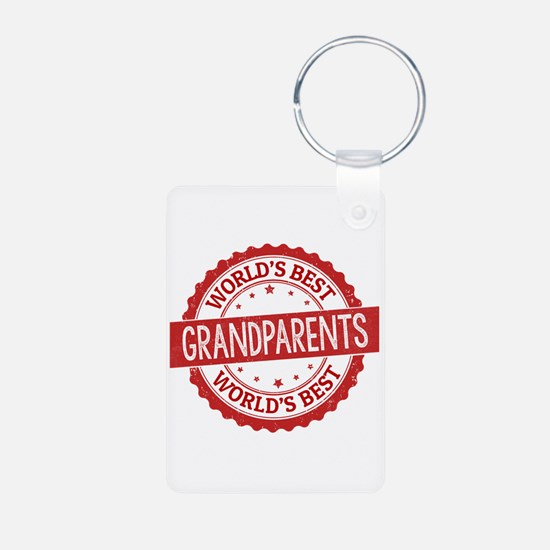 World's Best Grandparents Keychains