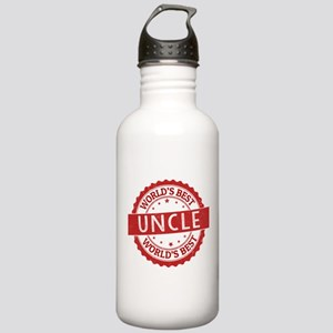 World's Best Uncle Stainless Water Bottle 1.0L