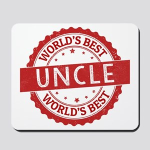 World's Best Uncle Mousepad