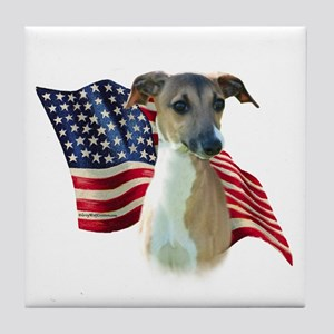 Iggy Flag Tile Coaster