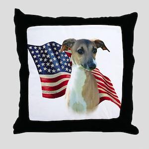 Iggy Flag Throw Pillow