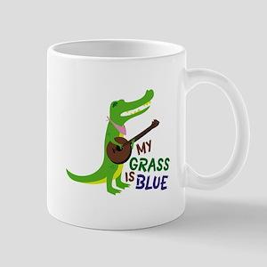 Grass Is Blue Mugs