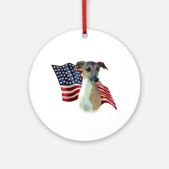 Iggy Flag Ornament (Round)