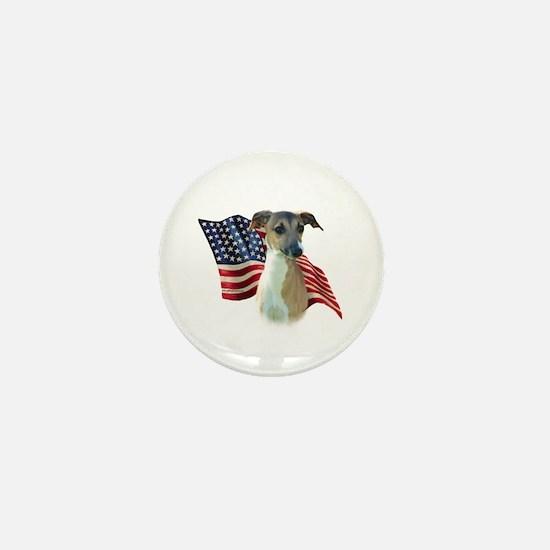 Iggy Flag Mini Button
