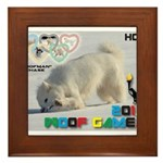 Hot-Dogging WOOF Games 2014 Framed Tile