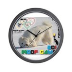 Hot-Dogging WOOF Games 2014 Wall Clock