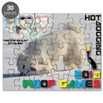 Hot-Dogging WOOF Games 2014 Puzzle