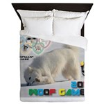 Hot-Dogging WOOF Games 2014 Queen Duvet