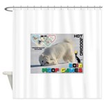Hot-Dogging WOOF Games 2014 Shower Curtain