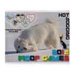 Hot-Dogging WOOF Games 2014 Throw Blanket