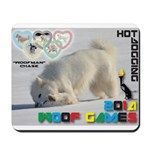 Hot-Dogging WOOF Games 2014 Mousepad