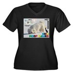 Hot-Dogging WOOF Games 2014 Plus Size T-Shirt