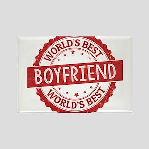 World's Best Boyfriend Magnets