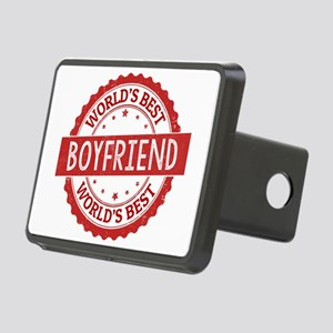 World's Best Boyfriend Rectangular Hitch Cover