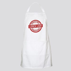 World's Best Lunch Lady Apron