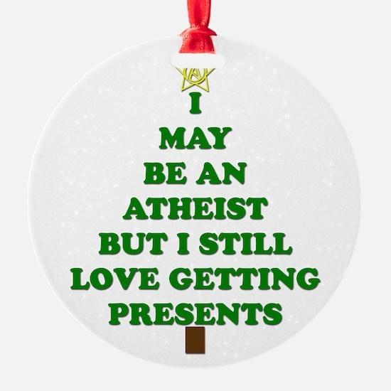 Atheist Holiday Tree Ornament