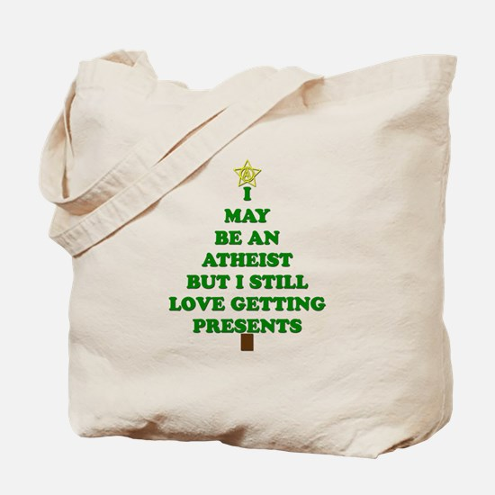 Atheist Holiday Tree Tote Bag