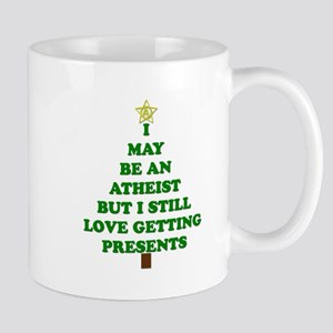 Atheist Holiday Tree Mugs