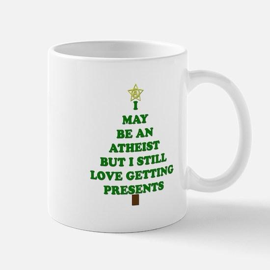 Atheist Holiday Tree Mugs