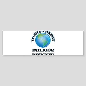 World's Sexiest Interior Designer Bumper Sticker