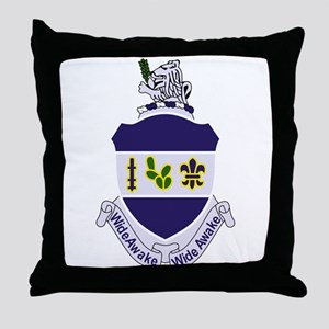 151st Infantry Regiment Patch Militar Throw Pillow