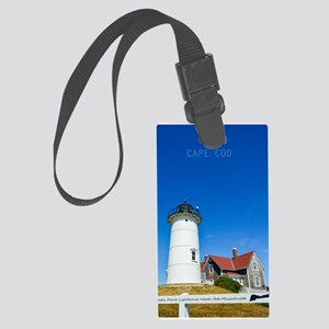 Cape Cod. Large Luggage Tag