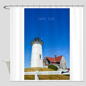 Cape Cod. Shower Curtain
