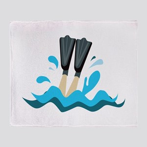 Aqua Sports Throw Blanket