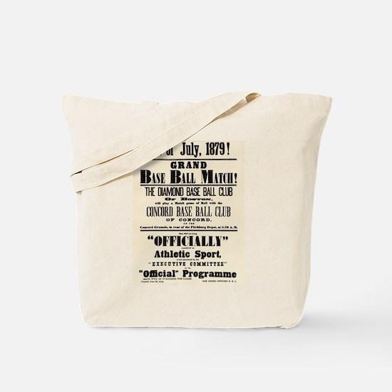 Boston Baseball Tote Bag