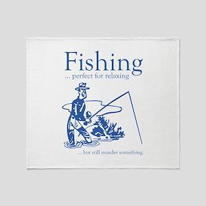 Fishing Stadium Blanket