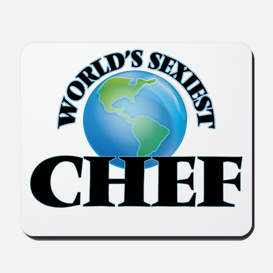 World's Sexiest Chef Mousepad