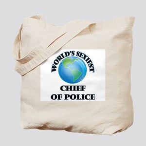 World's Sexiest Chief Of Police Tote Bag
