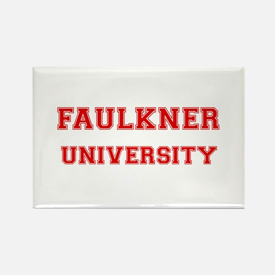 FAULKNER UNIVERSITY Rectangle Magnet