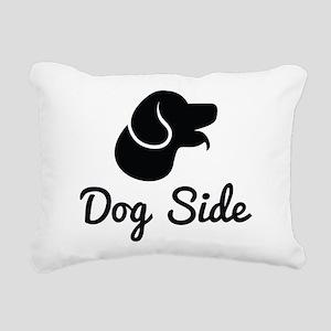 Dog Side Rectangular Canvas Pillow