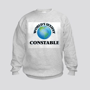 World's Sexiest Constable Kids Sweatshirt