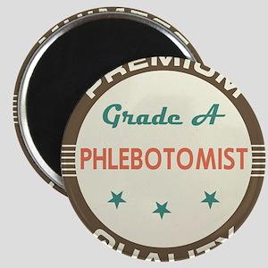 Phlebotomist Vintage Magnet