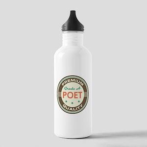 Poet Vintage Stainless Water Bottle 1.0L